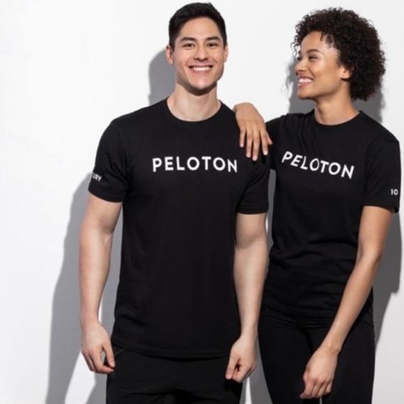 Peloton Black Century 100 Club Crew Neck T-Shirt